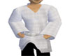 Karate White Top