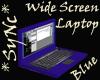 *Sync Wide Sc Laptop Blu