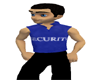 Blue Security Shirt