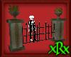 Grim Cemetery Fence