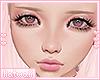 k. wendy head w/eyeliner