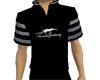 black white stripe shirt