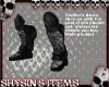 Skuller's Boots (M)