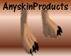 (ASP) Animated Paws Feet