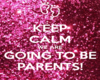 Parents To Be Pose Sign
