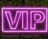VIP Neon Sign