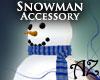 *AZ* Snowman Scarf