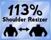 Shoulder Scaler 113%