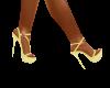 Yellow Diana Heels