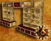 TimeGear Brass Bookcase