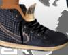 BR: Black n Gold Nikes