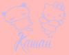 Blue Kawaii Dungarees