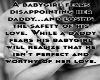 Babygirl's Fear
