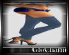 Glo* BlueKnitLeggins