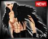 ! Black Feather Cape