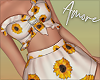 ! White Sunflower Set