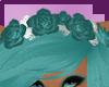 .:M:. Blue Head Roses