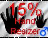 *M* Hand Scaler 15%