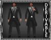 Long Tux Suit Mesh