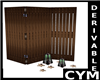 Cym  Folding Screen Derv