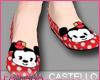 [FC] Minnie Mouse Flats