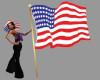 [BRI] USA Flag with Pose
