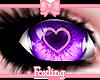 🎀Heart eyes Purple