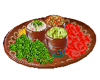 Taco Sides Plate