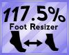 Foot Scaler 117.5%