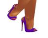 Purple Strap Stiletto