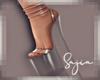 Ⓢ Glass Heels