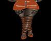 pvc Sexy Skirt Boot