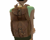 {LR}Leather Backpack