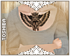 `OWL!` chest tat.
