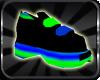 [GEL] Blue/Green Shoes