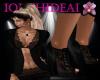Lucilla Black Lace Shoes