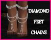 Diamond Feet Chains