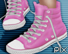 !! Pink High Shoes