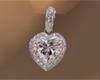 White Diamond Hearts