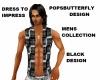 BLACK DESIGN SHIRT