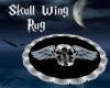 Skull Wing Rug