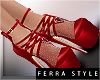 ~F~Arella Pumps Red