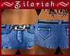 ~ZB~ Hippy Jean Shorts
