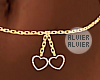 C | Hearts chain Belt