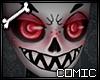 CSS| Red Fem Skull