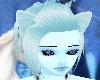 light blue ears