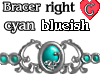 Bracer1 CyanBlueishRIGHT