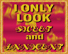 only look