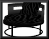 [BG] Black dance chair