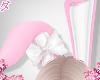 d. bunny ears pinku